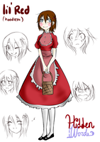 Lil Red's design (UPDATE) by Pyunenii