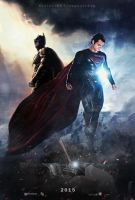 Man of Steel vs The Dark Knight by augustohag