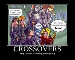 What crossovers do... by AnimeLover12341999