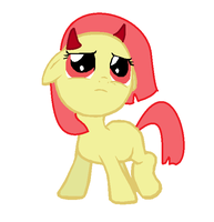 Little Baby Blank Flank by MidnightFluffytail