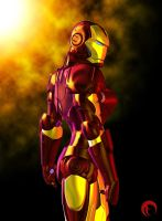 Iron Woman II by Raddar
