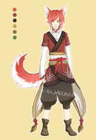 Kitsune Adopt Auction [Closed] by rumflakes
