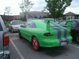 Duct Tape Car by xDeiDannax