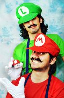 Mamma mia's Brothers by keep-breathing