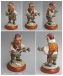Hoggle sculpture clay labyrinth by yotaro76