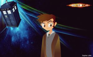 Dr.Who Wallpaper by SophiaGL