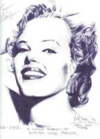 goodbye norma jean by Jim-Dacuycoy