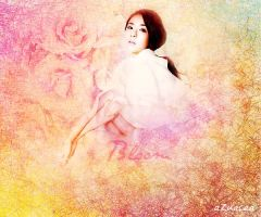 Bloom Poster (Dara) by AzuAcaa