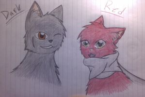 Red and Dark by BloodPaw86