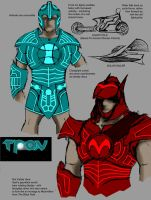 Tron Revamp Sketches by Jochimus