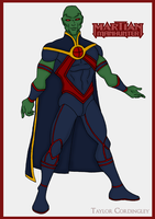 Justice League - Martian Manhunter Redesign by Femmes-Fatales