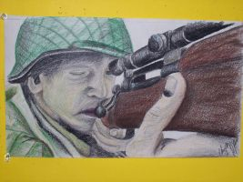 Snipper Saving private ryan by orearfarm
