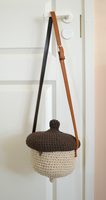 Crochet acorn bag by HolsteinFreestyler