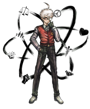 SHSL Thinker - Ryushi Handa by ProjectCubixDuc