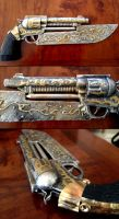 Steampunk 2012 - the Gunblade! by UnheraldedBanditry