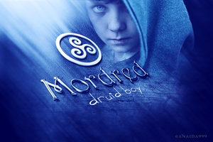 Series wallpaper of _Merlin_ /Mordred by 999Anaida