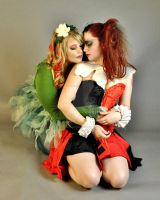 Harley and Ivy in Love by Vpoolephotos