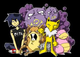 My pokemon team by muhvu