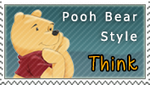 Think Think Think - Pooh Bear Style by Thory-Wory