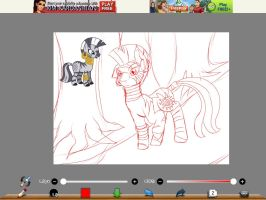 ZECORA WIP by TailsicaTFox