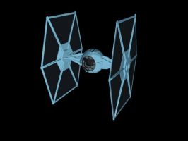 TIE Fighter - Cell Shaded by Transbot9