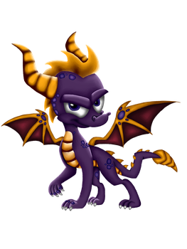 Return of the Dragon Official ~ Spyro the Dragon by SpongeDragon15