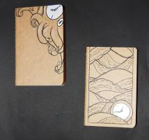 Clocktopus Journals by TouchOfWhimsy