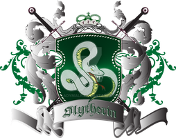 Slytherin Updated Crest by Ladymalk