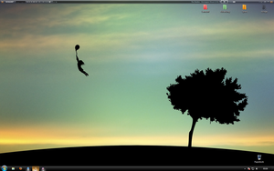 my desktop on 2010.02.07 by The-Golden-Brown