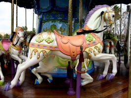 Carousel horse by FairieGoodMother