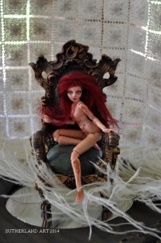 Miniature Ball jointed doll 1:12 scale BJD by SutherlandArt
