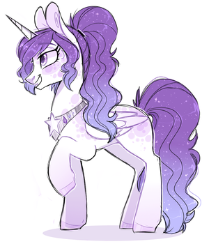 Emergency Adopt #1 - Star Alicorn - Closed by sararini