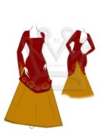 Gryffindor Deluxe Dress by AMR-Designs