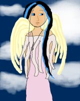 Brooke as an angel by corelila