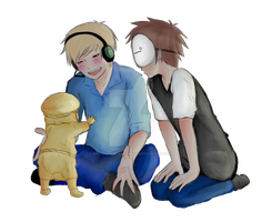Stephano Pewdie Cry by MrLudwigBeilschmidt