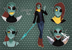 MMD Undyne Model Pack DL by kennetha