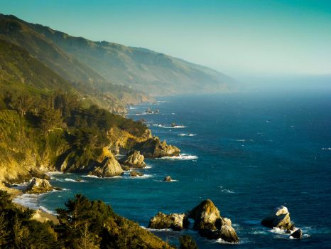 Big Sur Coastline by jezebel144