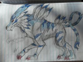 Garurumon 2 by vanazza