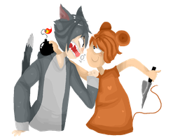 Tom and Jerry by KenmeiChan