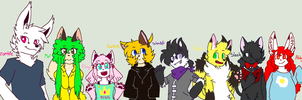 The whole gang is here! (updated) by abby-wut