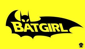 2000 Batgirl Comic Title Logo by HappyBirthdayRoboto
