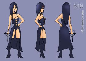 nix-animation model sheet by iNkubi