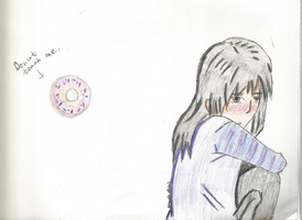 Donut Touch Me by AndarknessDrawer23