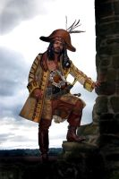 Elaborate gold pirate by overlord-costume-art