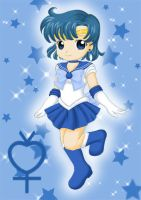 Chibi Sailor Mercury by Dawnie-chan