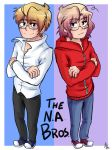 THE NORTH AMERICA BROTHERS by akitokun1