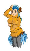30 MGC day 1 Harpy Girl by tetso