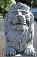 lion- Statue-Sheffield Tasmania by scratzilla