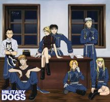 Military Dogs by Asakawa by roiai