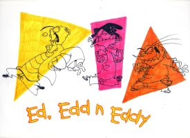 Ed, Edd n Eddy colors by Edness-Madness